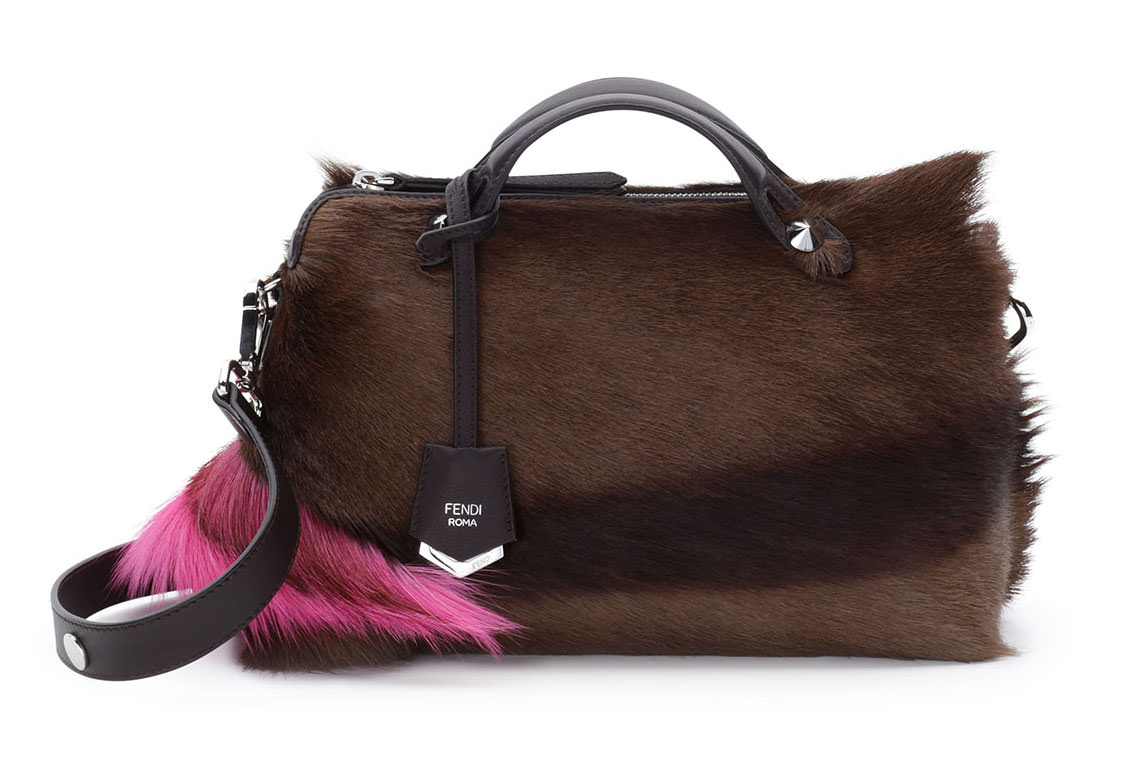 Fendi By The Way Small Fur Satchel