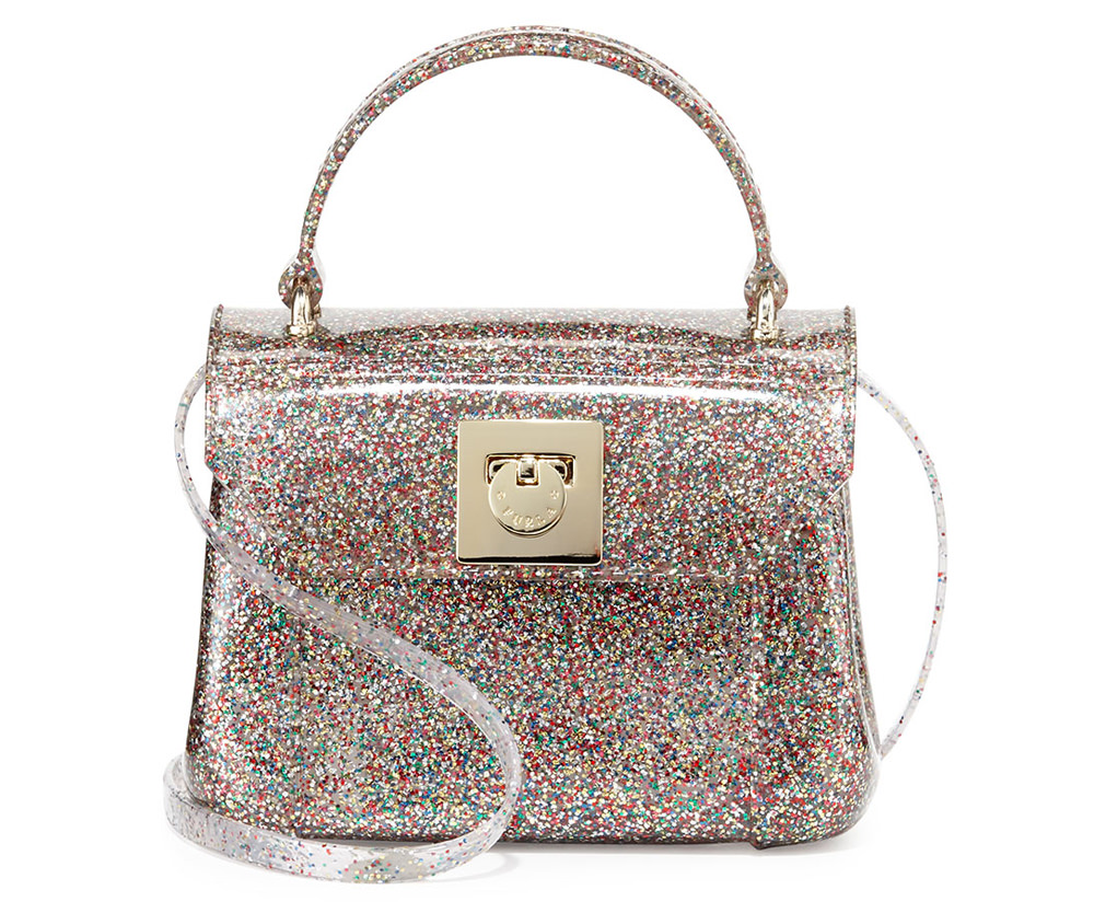Furla Candy Bon Bon Mini Glitter Bag