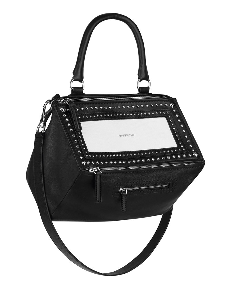 Givenchy Bicolor Studded Pandora bag