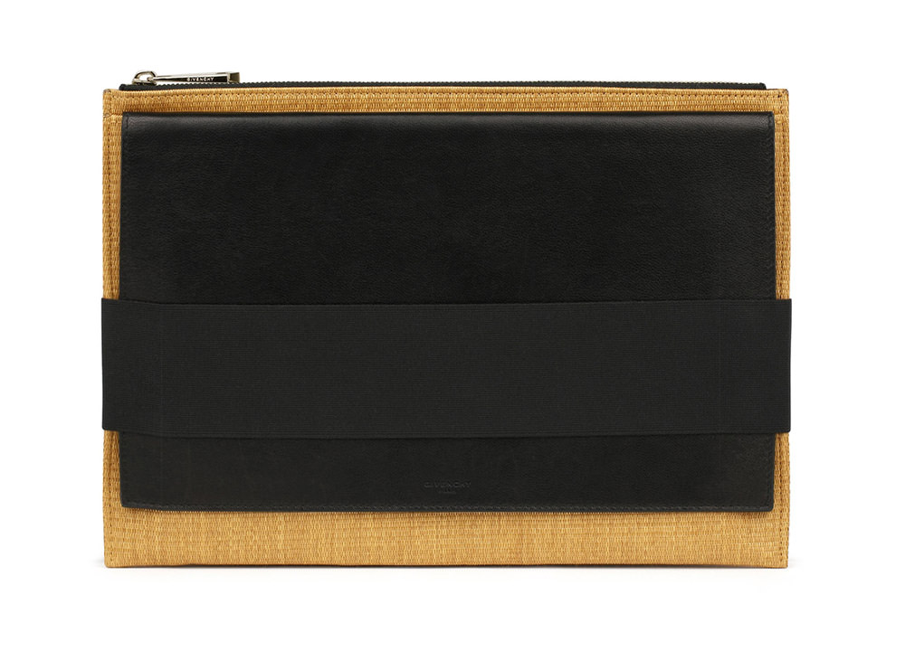 Givenchy Flap Clutch Jute