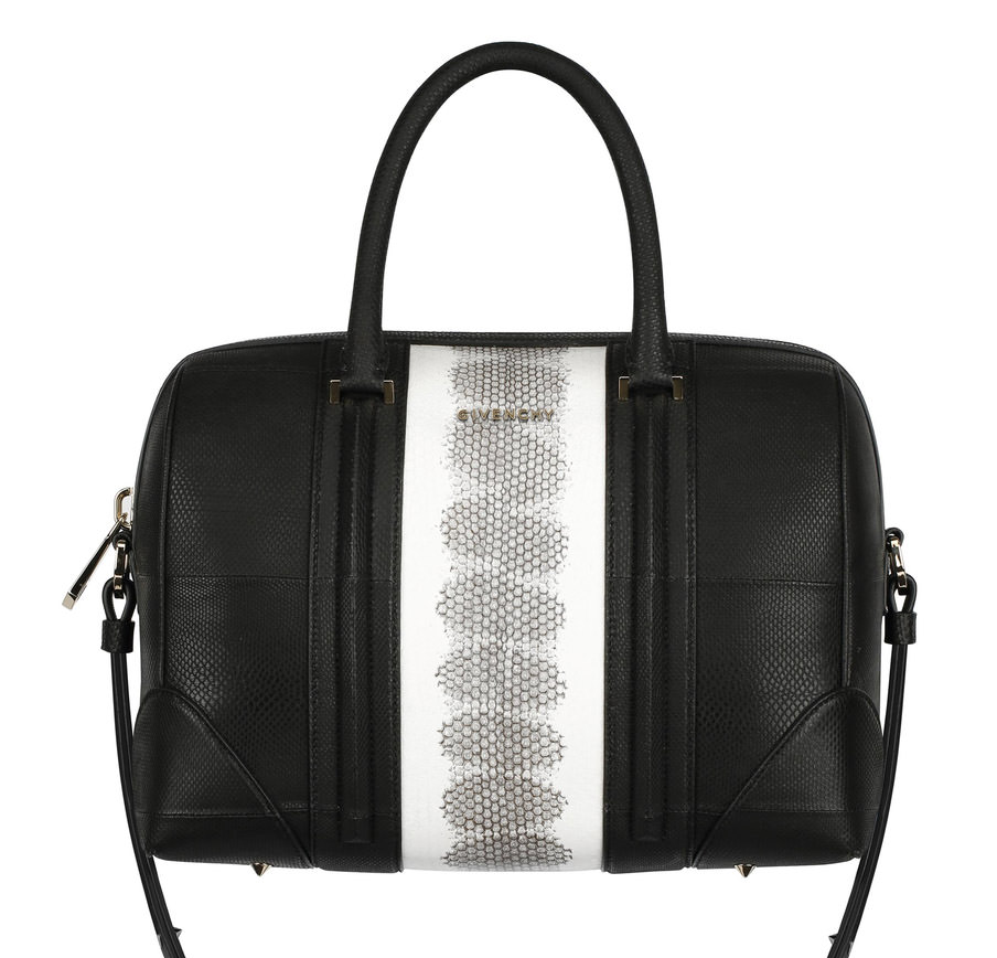 Givenchy Lucrezia Watersnake Stripe bag