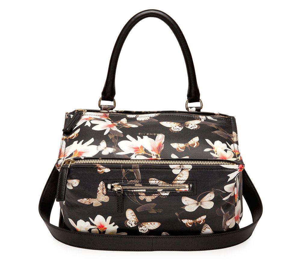 Givenchy Pandora Floral Bag