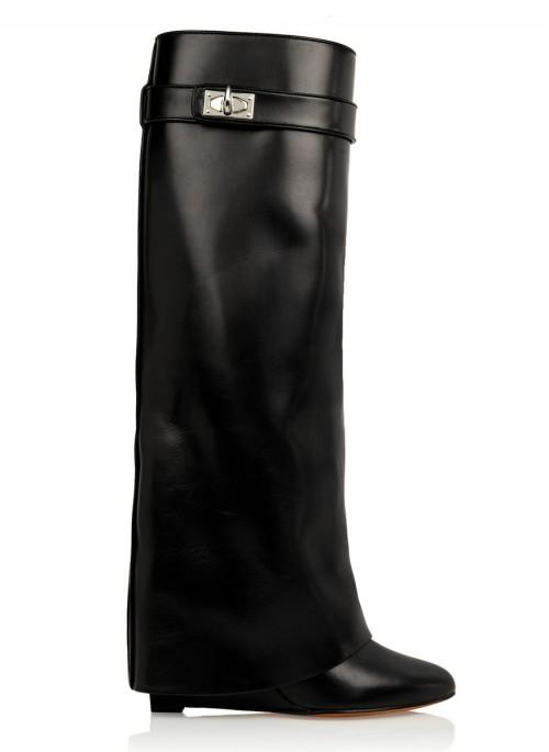 Givenchy Shark Lock Knee Boots