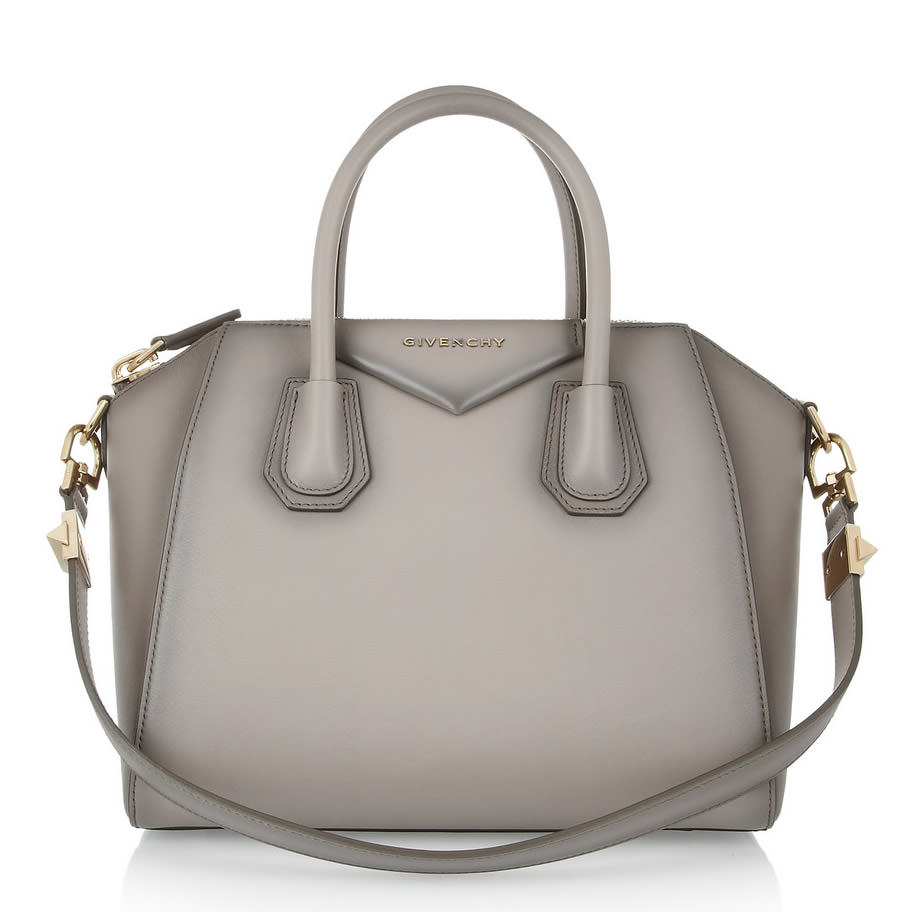 Givenchy Small Antigona bag in mushroom leather