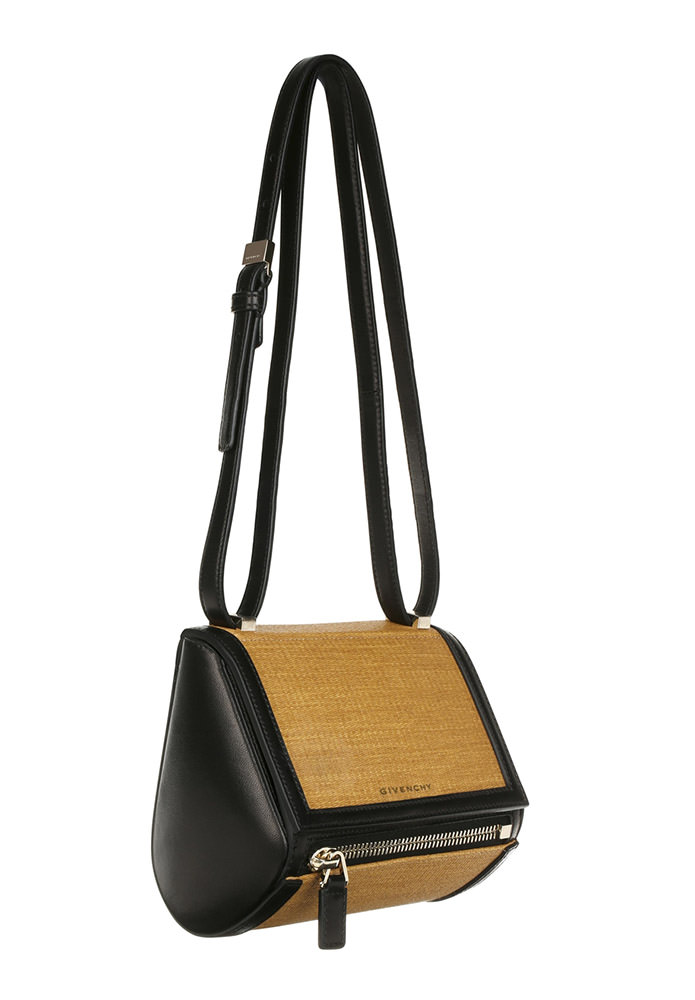 Givenchy Straw Pandora Box Bag