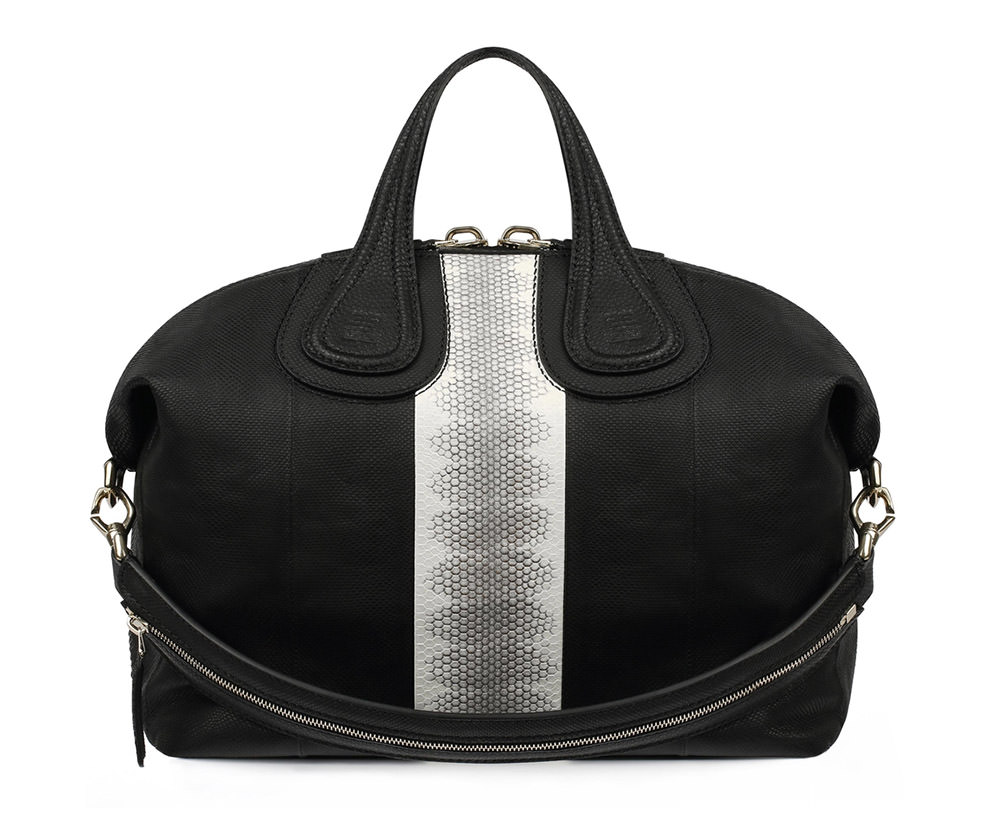 Givenchy Watersnake Stripe Nightingale Bag