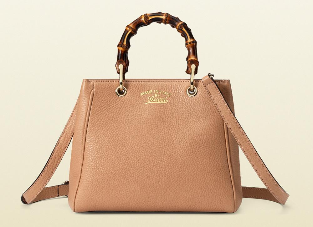 Gucci Bamboo Shopper Mini Top Handle Bag