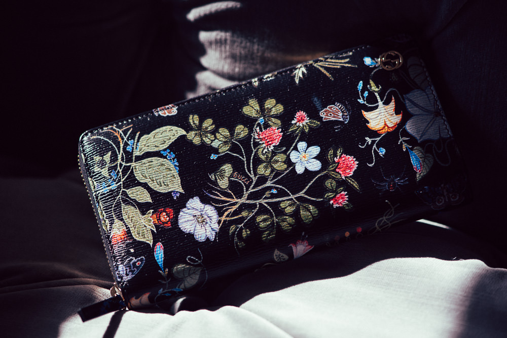 c3284f76ec3fe6 Gucci Flora Knight Print Zip Around Wallet - PurseBlog