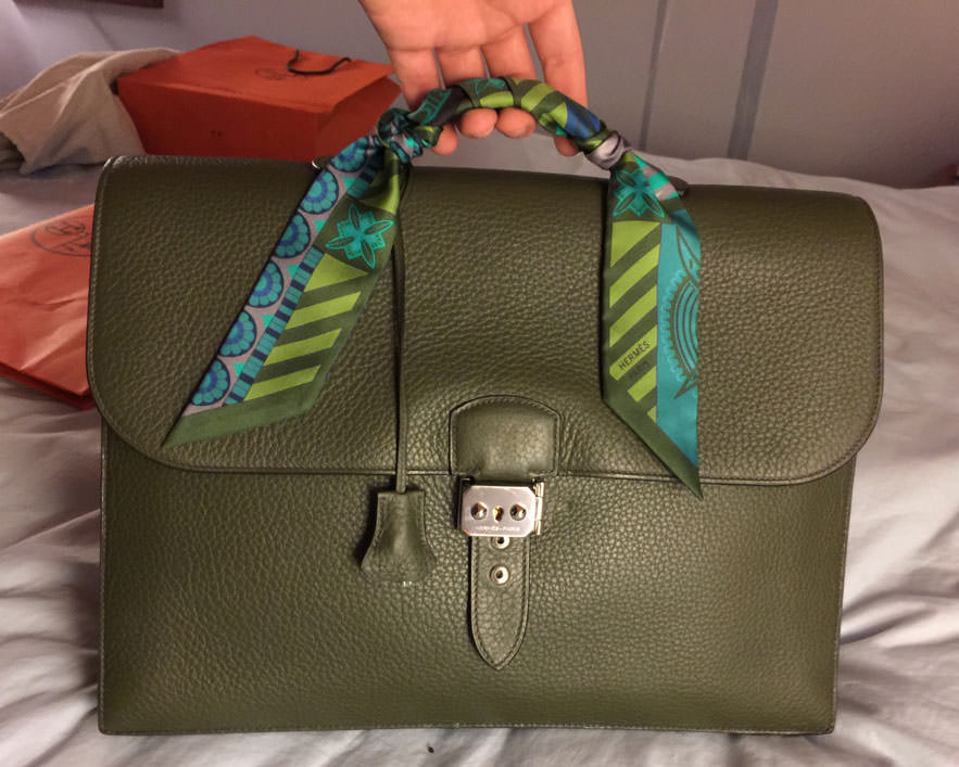 Hermes-Briefcase