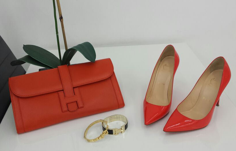 Hermes-Jige-Clutch-and-Christian-Louboutin-Pumps