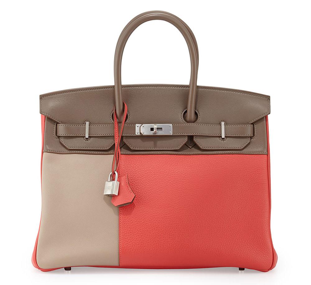Hermes Limited Edition Cascade Birkin