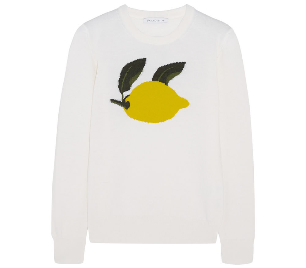 JW Anderson Intarsia merino wool sweater