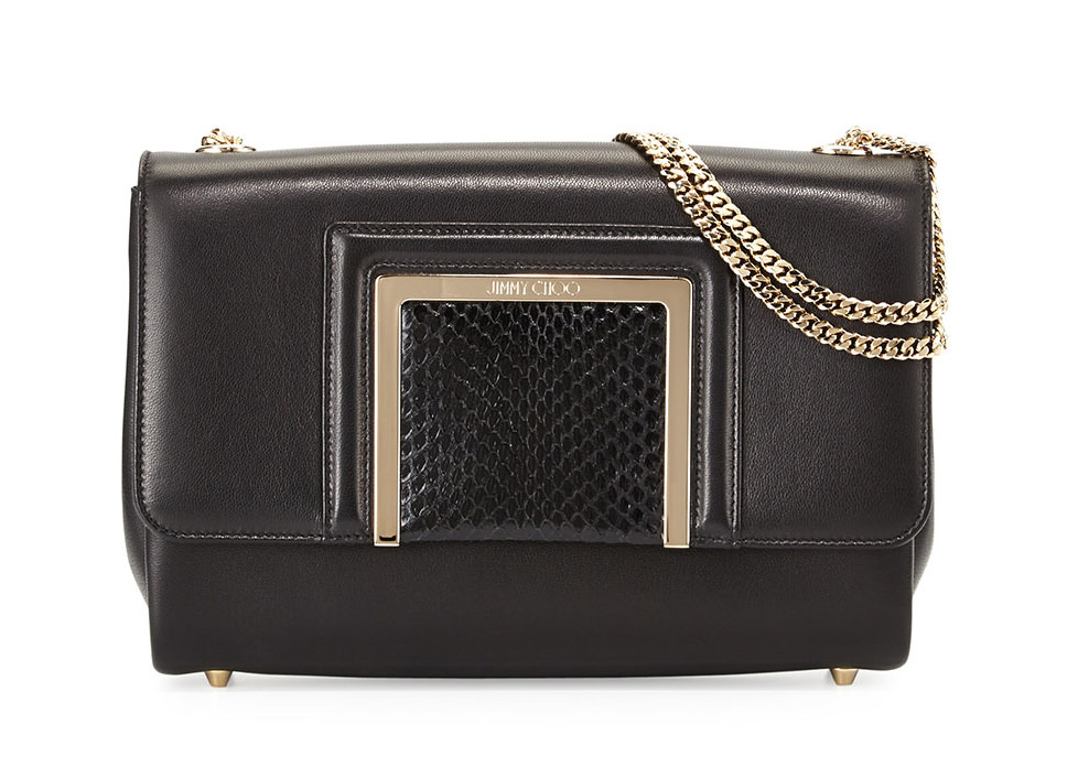 Jimmy Choo Alba Mini Shoulder Bag