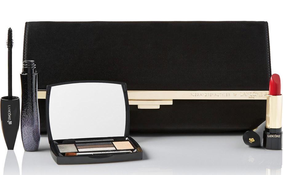 Lancome Nouvelle Vague Andrew Vauthier Clutch and Cosmetics Set
