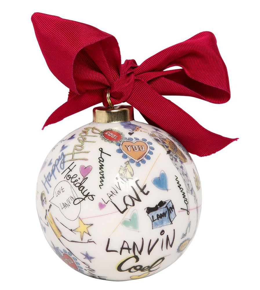 Lanvin Christmas Tree Ornament