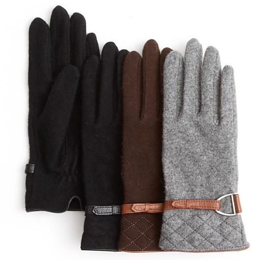 Lauren Ralph Lauren Quilted Tech Gloves