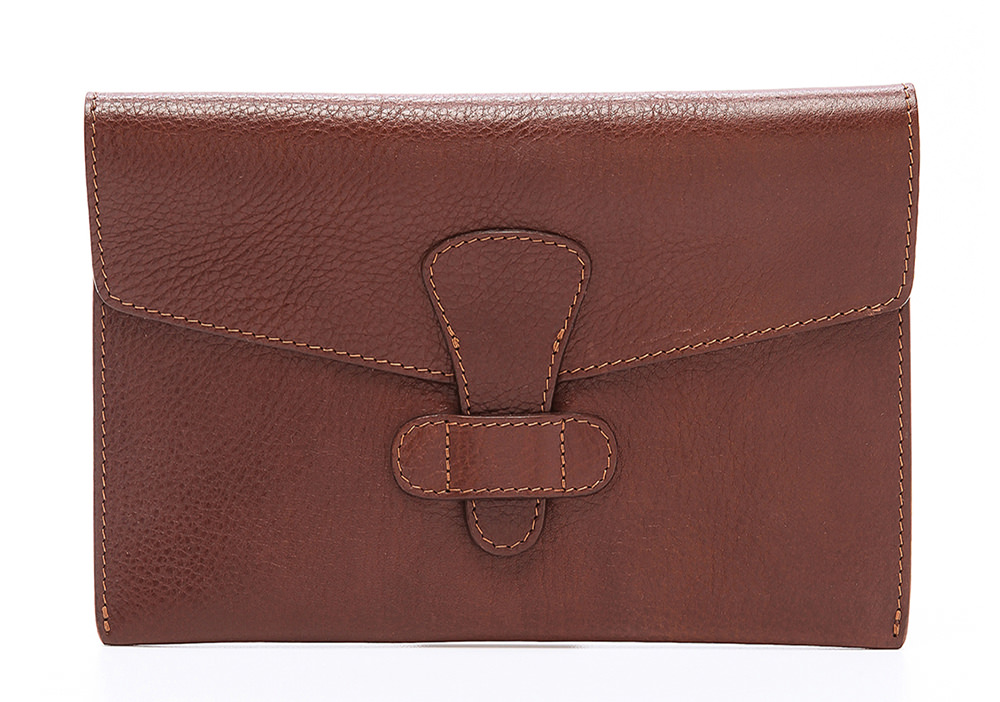 Lotuff Leather Flap-Over iPad Case