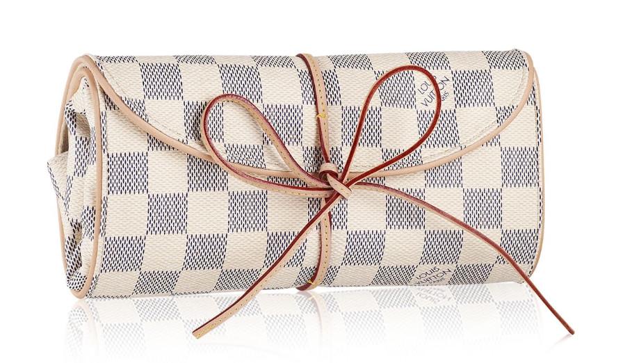 Louis Vuitton Damier Azur Foldable Jewelry Pouch