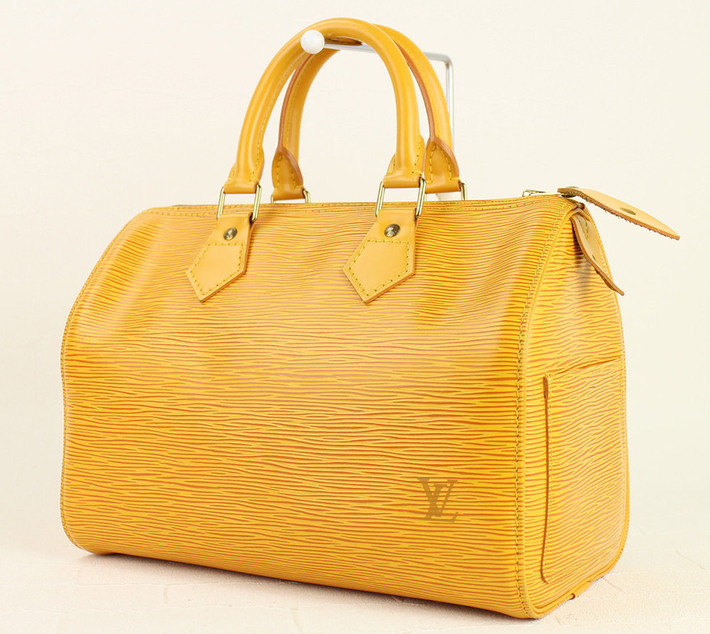 Louis Vuitton Epi Leather Speedy Bag