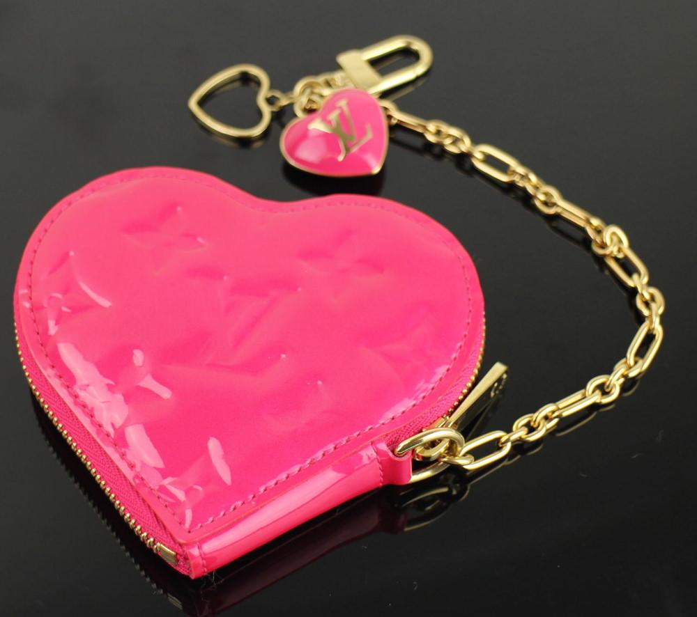 b3d7ccd6dc23 Louis Vuitton Monogram Vernis Heart Coin Purse - PurseBlog