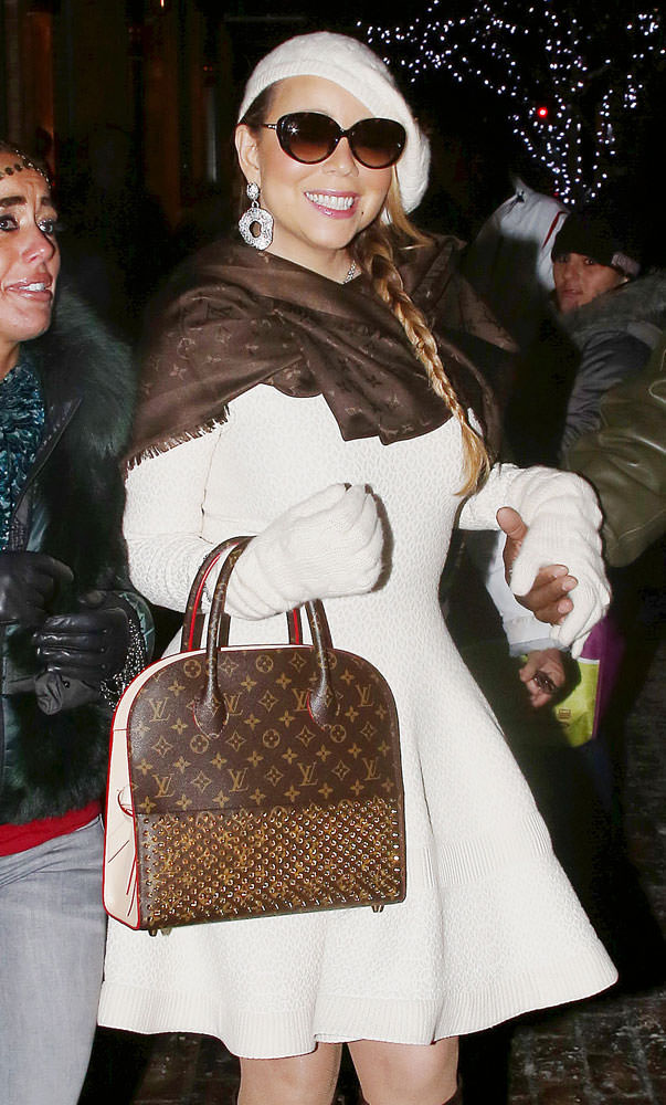 Mariah-Carey-Louis-Vuitton-x-Christian-Louboutin-Shopping-Bag