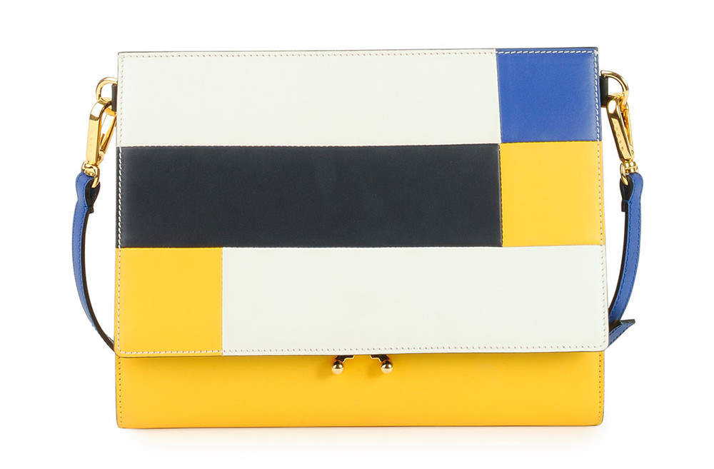 Marni File Frame Shoulder Bag