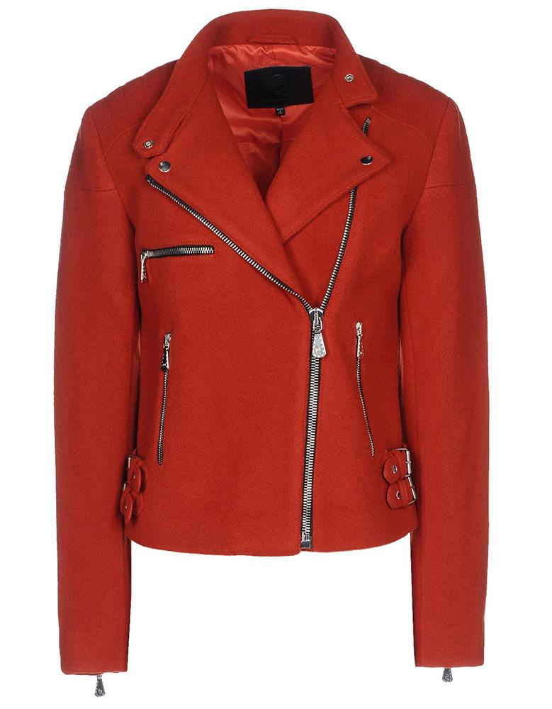 McQ Alexander McQueen Wool Moto Jacket