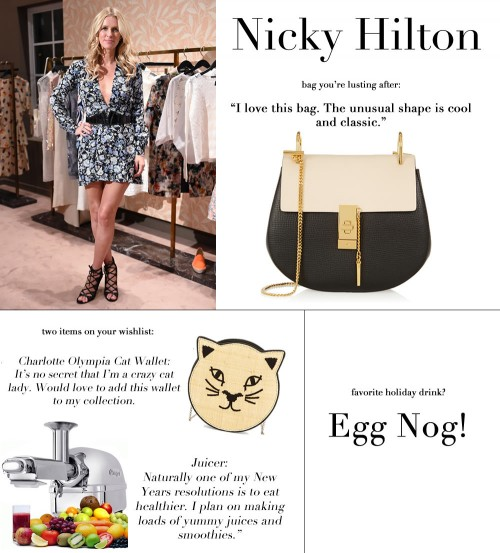 Nicky Hilton WishList
