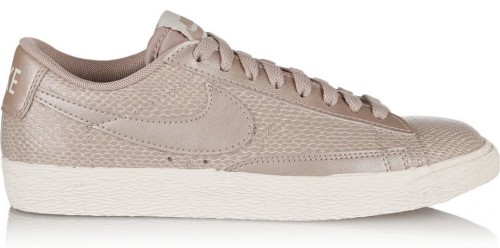 Nike Blazer Snake Effect Leather Sneakers
