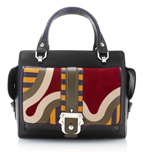 Paula Cademartori Naga Piwa Patterned-Leather Tote Bag