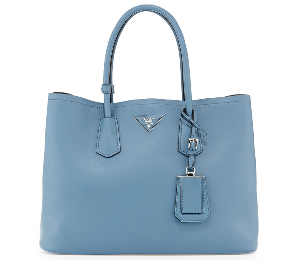 Prada City Calf Double Bag
