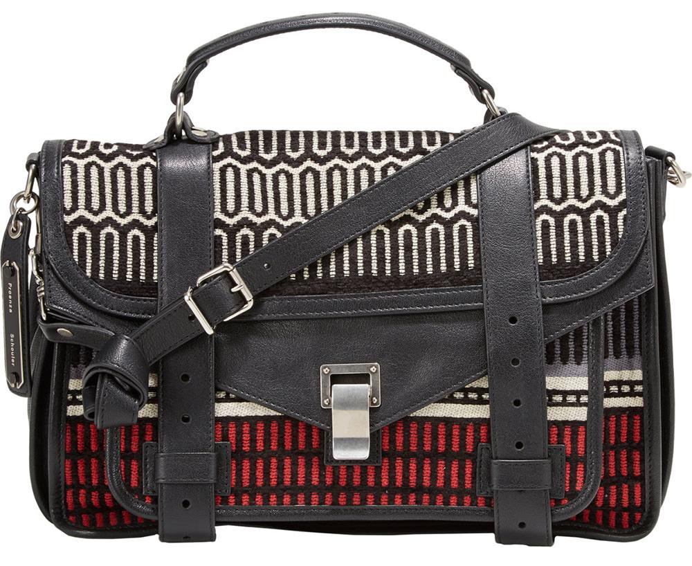 Proenza Schouler Baja Blanket PS1 Bag