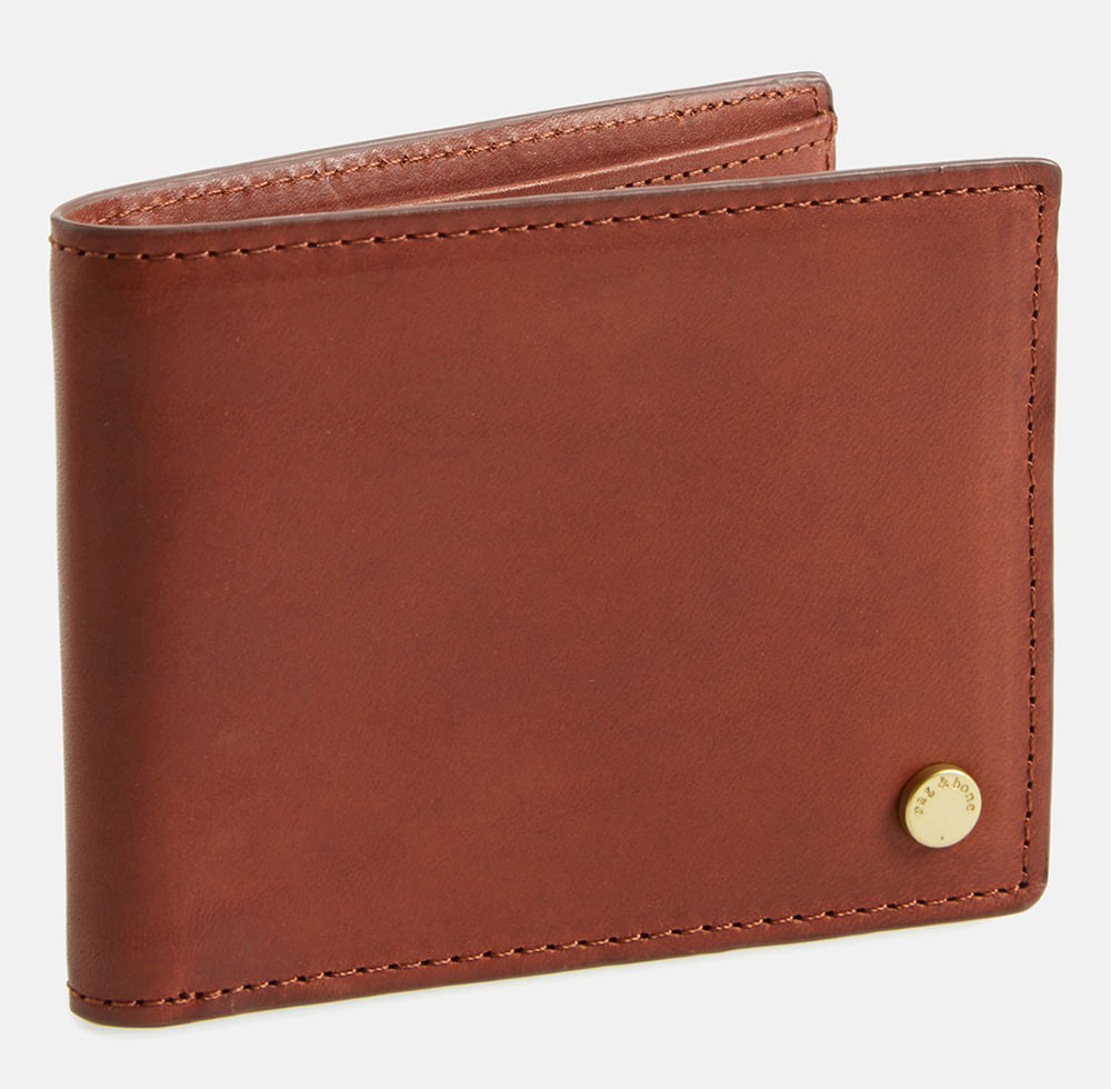 Rag and Bone Leather Bifold Wallet
