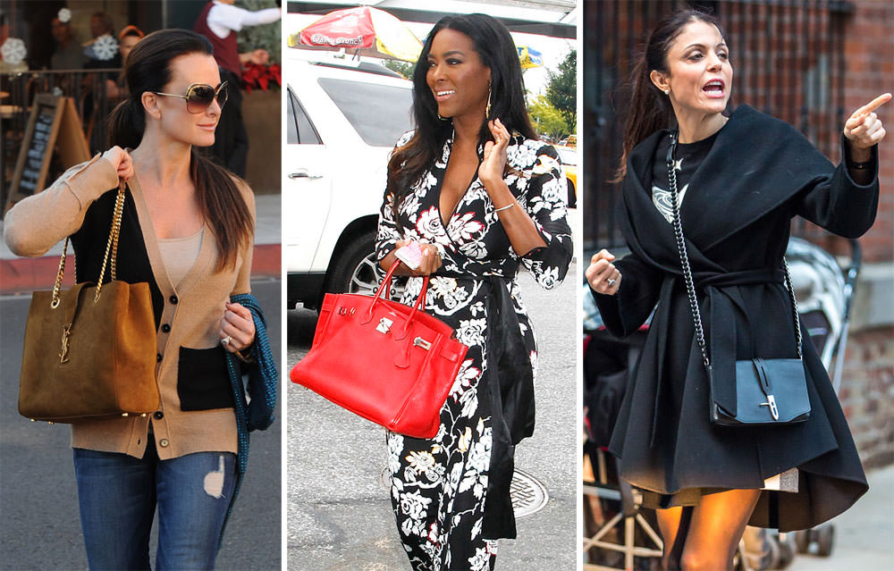 0aedd9712625 Let's Check in with Our Favorite Real Housewives and Their Handbags ...
