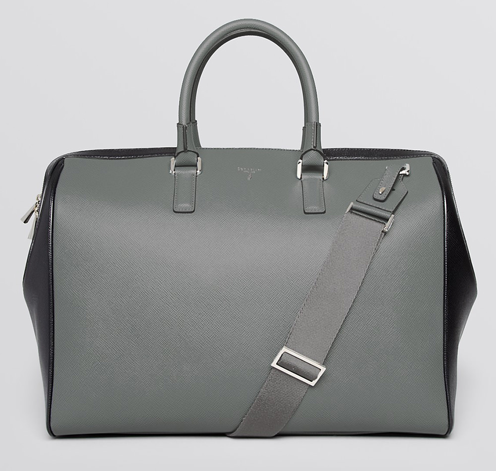 Serapian Evolution Textured Leather Duffel