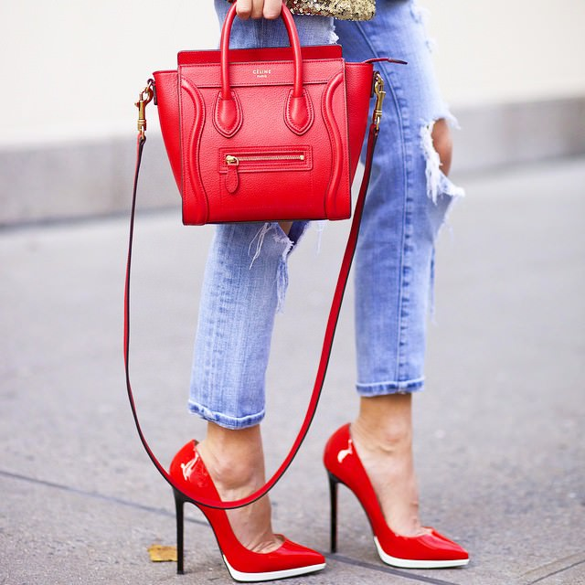 bag celine - 30 C��line Bags We Found on Instagram - PurseBlog