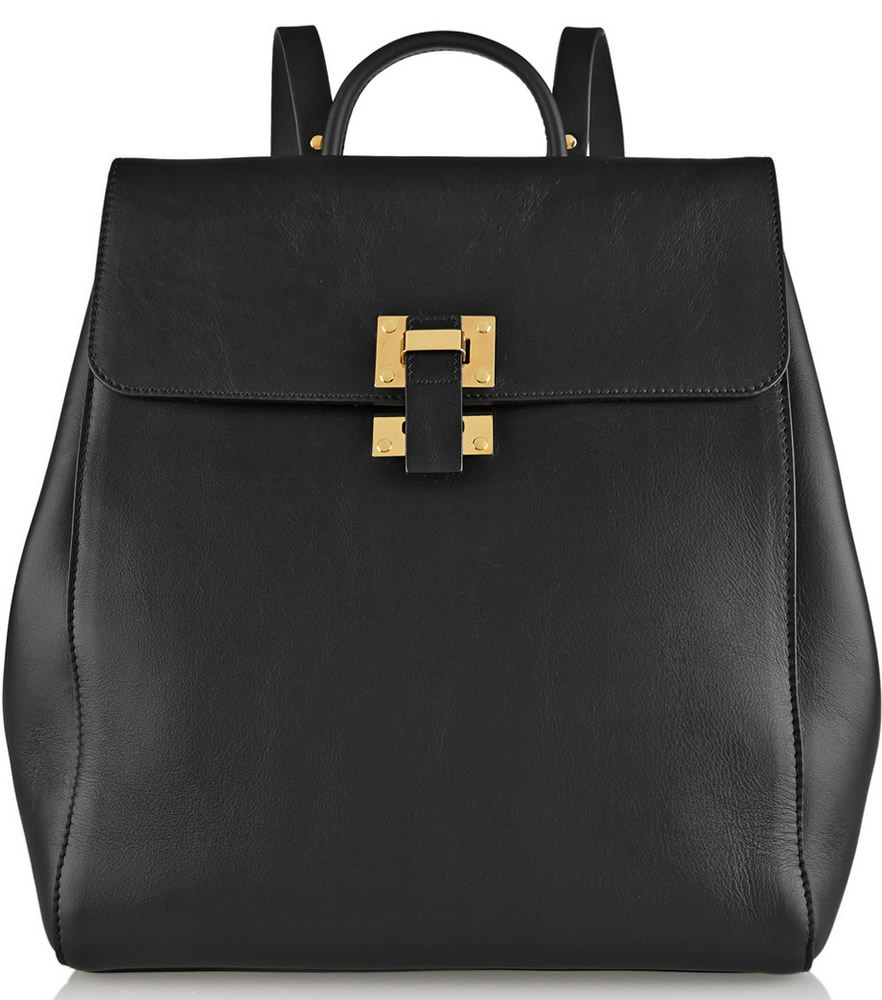 Sophie Hulme Soft Flap Backpack