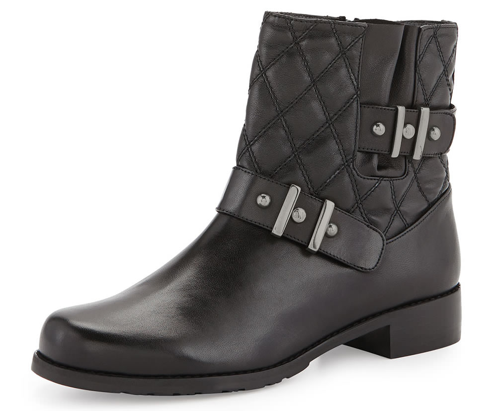 Stuart Weitzman Download Quilted Ankle Boot