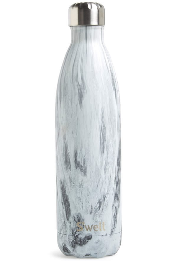 S'well Teakwood Stainless Steel Water Bottle
