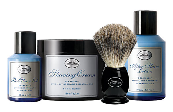 The Art of Shaving Four Elements of the Perfect Shave Ocean Kelp Set