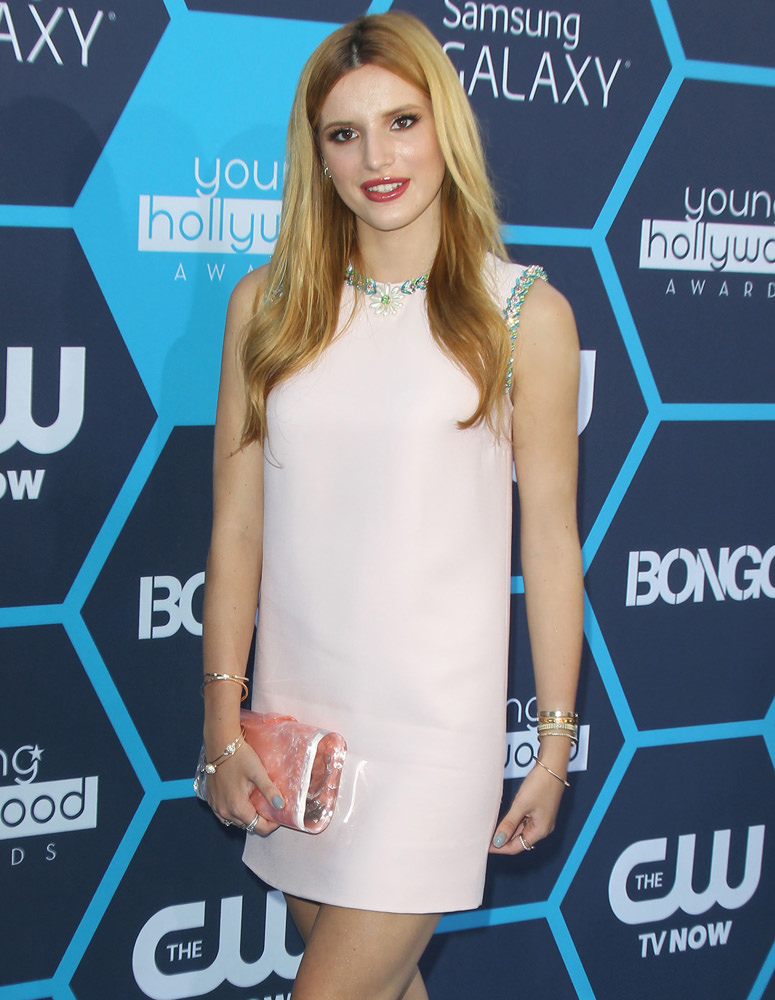 Bella Thorne arrives at the 16th Annual Young Hollywood Awards