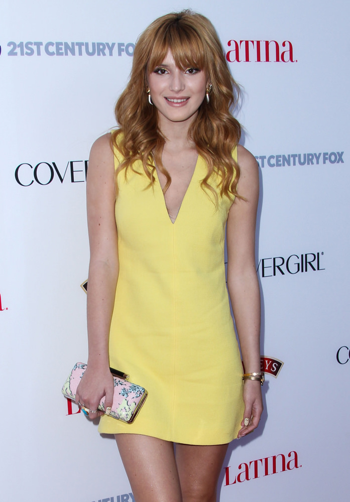 """Bella Thorne arrives at Latina Magazine's """"Hollywood Hot List"""" Party"""