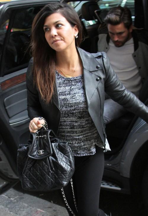 Kourtney Kardashian And Scott Disick Shop In Nyc Purseblog