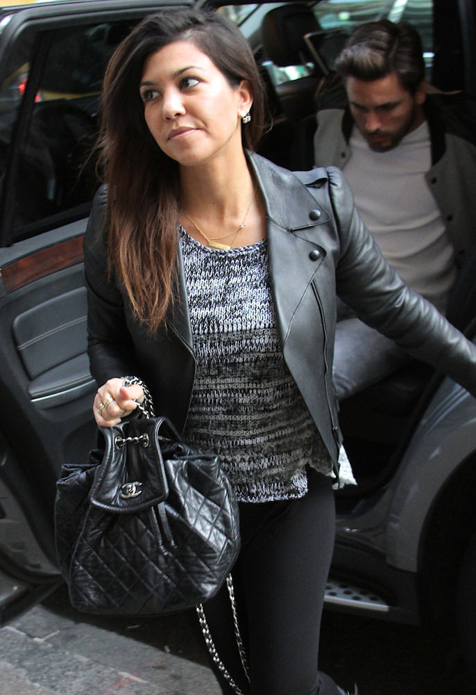 Kourtney Kardashian and Scott Disick shop in NYC