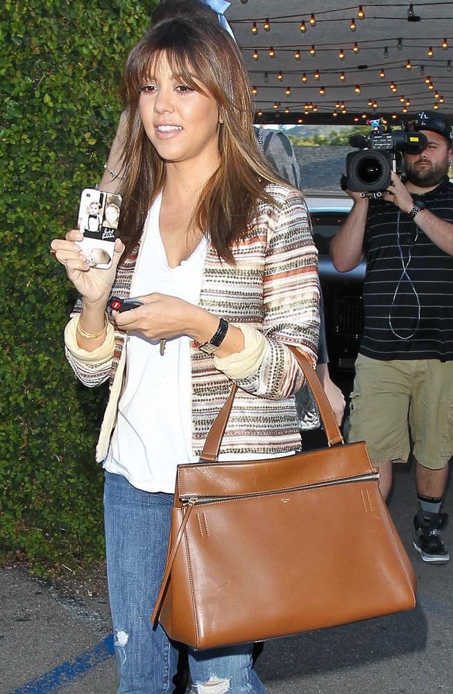 The Many Bags of Kourtney Kardashian - PurseBlog e1f8c5ab192d5