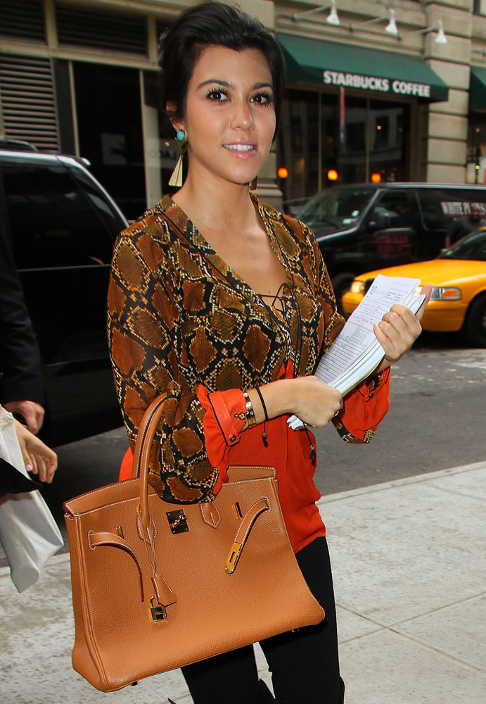 Kourtney Kardashian out and about in NYC
