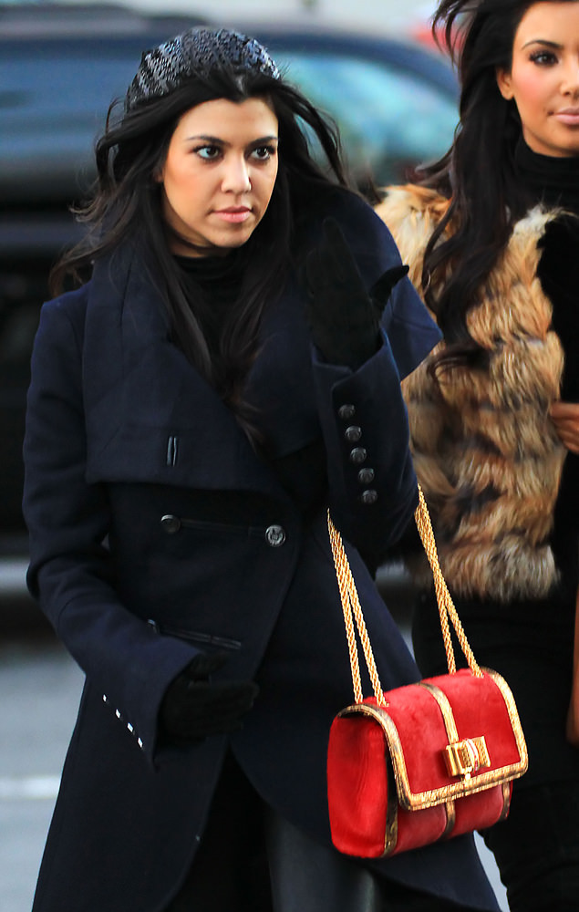 Kim Kardashian And Kourtney Board The Circle Line Boat To Go Statue Of Liberty