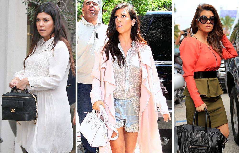 The Many Bags Of Kourtney Kardashian