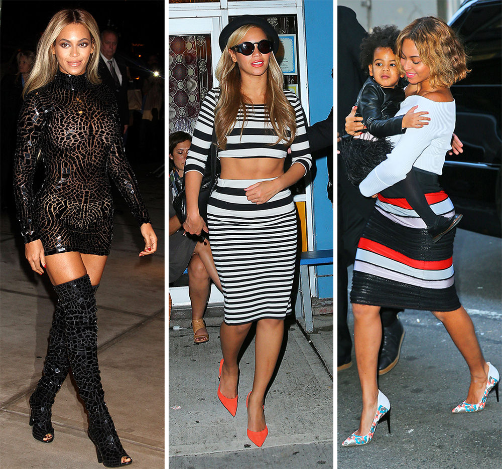 The Many Shoes of Beyonce
