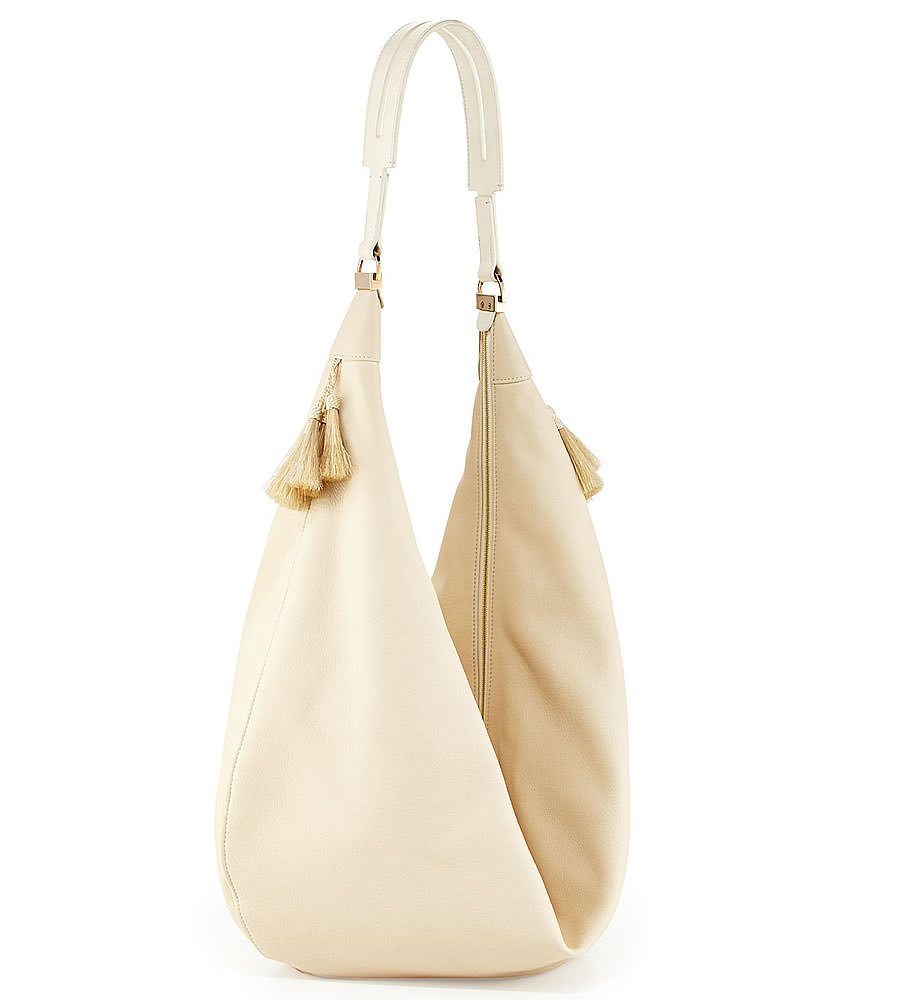 The Row Sling 15 Horsehair-Tassel Hobo Bag
